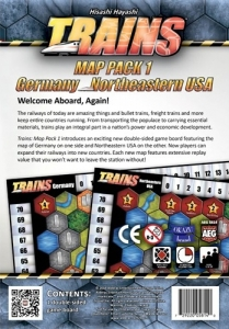 Trains: Map Pack 1 - Germany/Northeastern USA